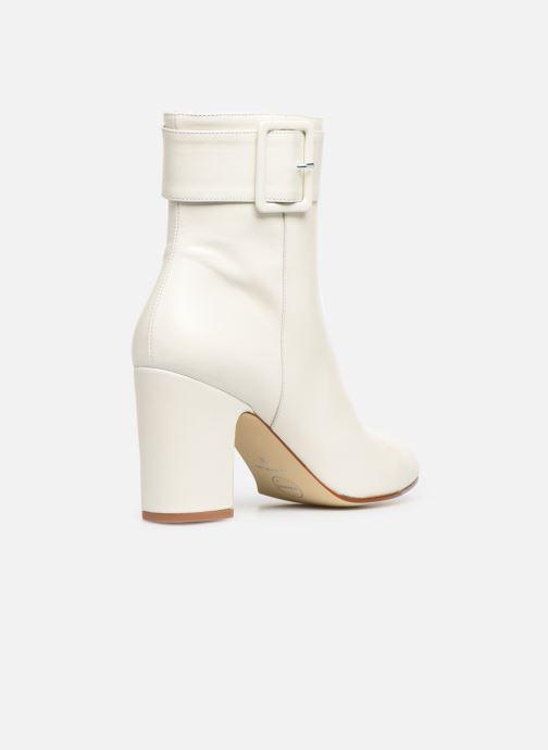 Bottines et boots Made by SARENZA Soft Folk Boots #9 Blanc vue face