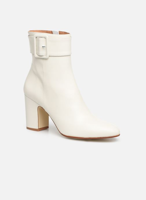 Botines  Made by SARENZA Soft Folk Boots #9 Blanco vista lateral derecha