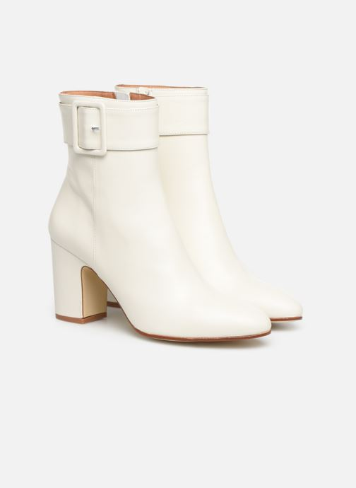Botines  Made by SARENZA Soft Folk Boots #9 Blanco vistra trasera