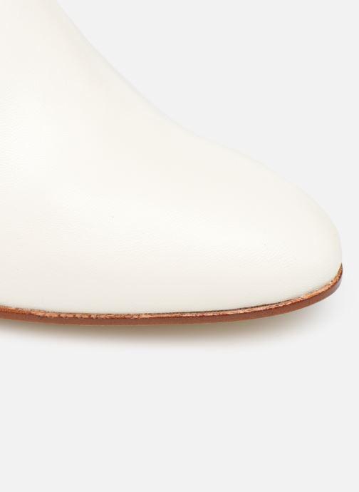 Botines  Made by SARENZA Soft Folk Boots #9 Blanco vista lateral izquierda