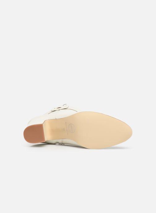 Botines  Made by SARENZA Soft Folk Boots #9 Blanco vista de arriba