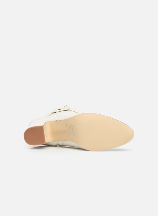 Bottines et boots Made by SARENZA Soft Folk Boots #9 Blanc vue haut