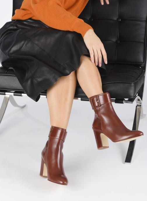 Bottines et boots Made by SARENZA Soft Folk Boots #9 Rouge vue bas / vue portée sac