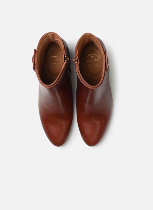 Bottines et boots Made by SARENZA Soft Folk Boots #9 Rouge vue portées chaussures