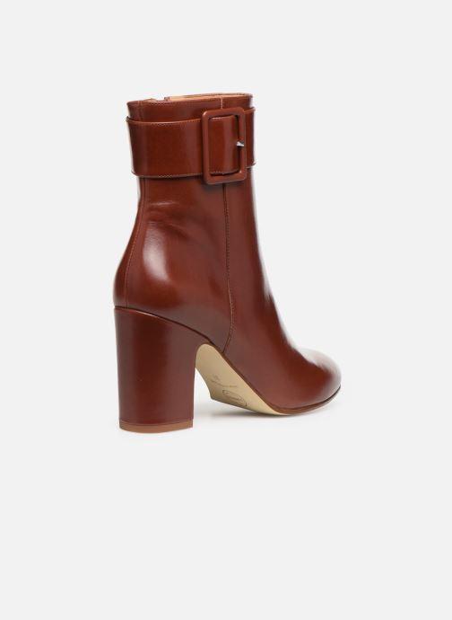 Bottines et boots Made by SARENZA Soft Folk Boots #9 Rouge vue face