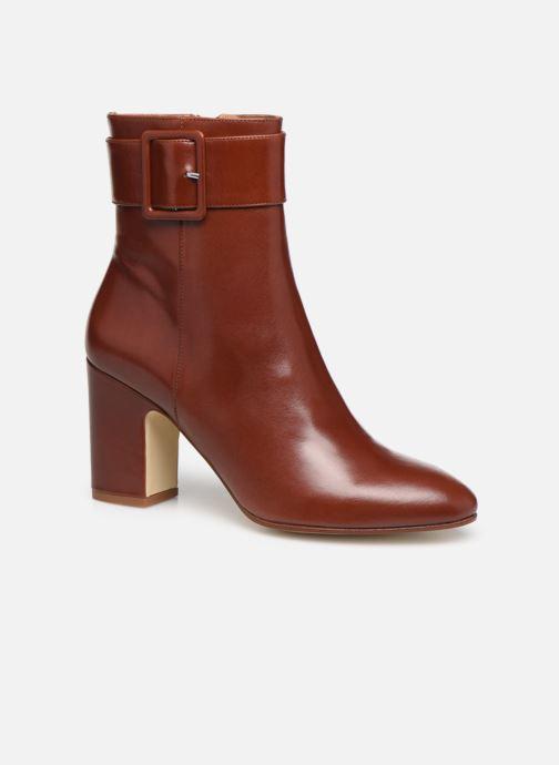 Botines  Made by SARENZA Soft Folk Boots #9 Rojo vista lateral derecha