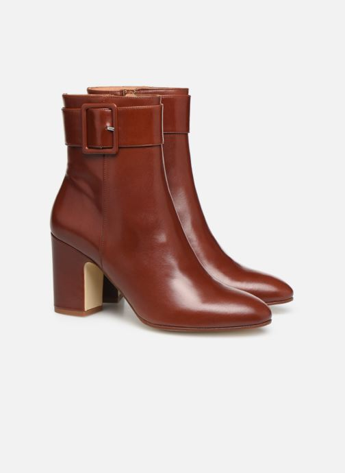 Botines  Made by SARENZA Soft Folk Boots #9 Rojo vistra trasera