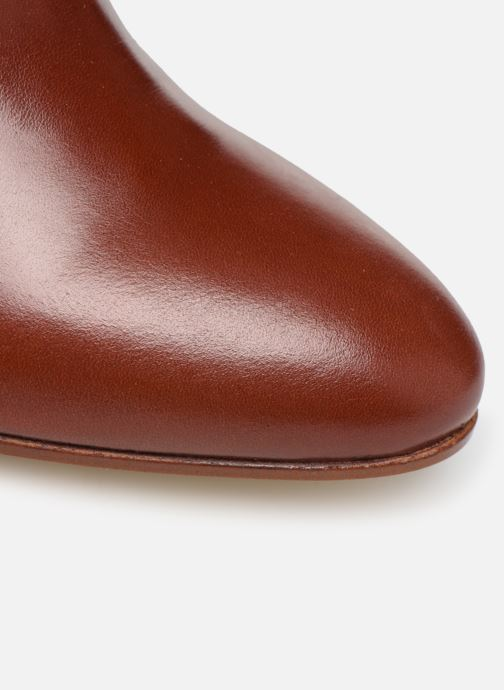 Bottines et boots Made by SARENZA Soft Folk Boots #9 Rouge vue gauche