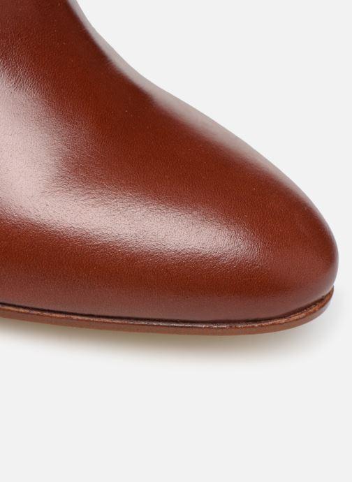 Botines  Made by SARENZA Soft Folk Boots #9 Rojo vista lateral izquierda