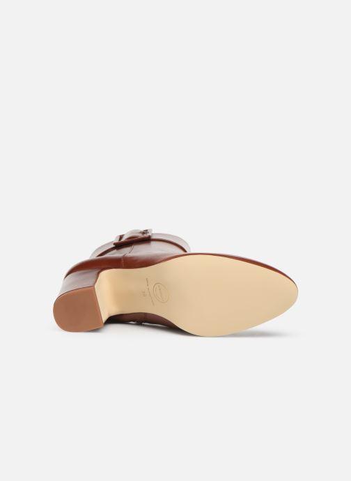 Bottines et boots Made by SARENZA Soft Folk Boots #9 Rouge vue haut