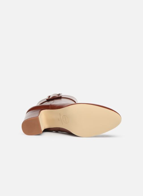 Stivaletti e tronchetti Made by SARENZA Soft Folk Boots #9 Rosso immagine dall'alto