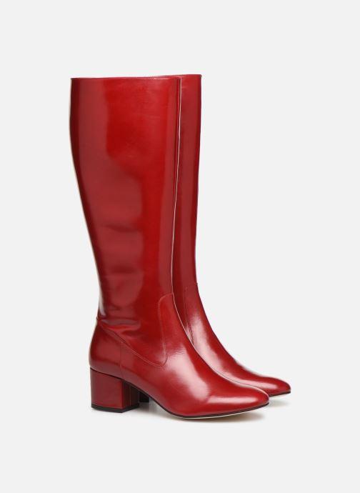 Laarzen Made by SARENZA Soft Folk Bottes #4 Rood achterkant