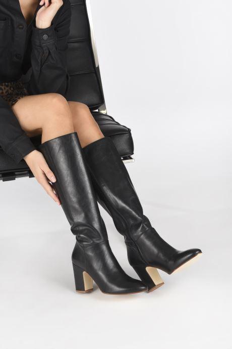 Stiefel Made by SARENZA Soft Folk Bottes #2 schwarz ansicht von unten / tasche getragen
