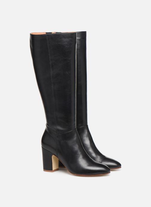 Laarzen Made by SARENZA Soft Folk Bottes #2 Zwart achterkant