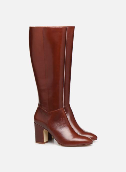 Laarzen Made by SARENZA Soft Folk Bottes #2 Rood achterkant