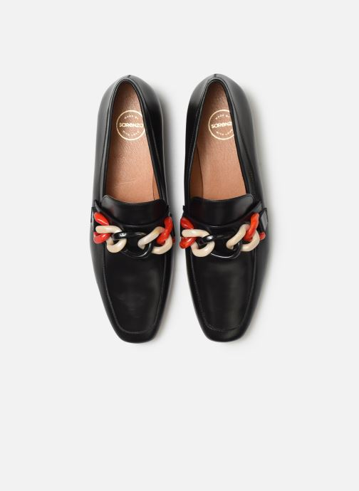 Slipper Made by SARENZA Retro Dandy Mocassin #3 schwarz schuhe getragen