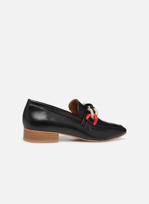 Slipper Made by SARENZA Retro Dandy Mocassin #3 schwarz ansicht von vorne