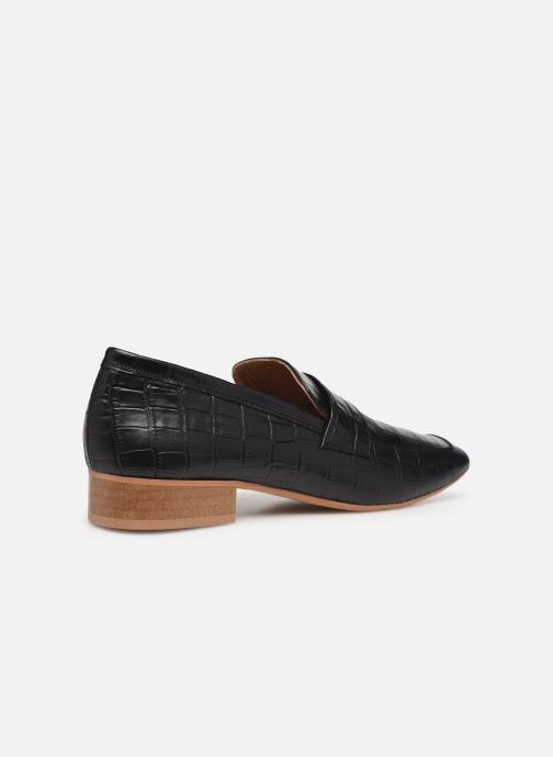 Loafers Made by SARENZA Retro Dandy Mocassin #3 Black front view