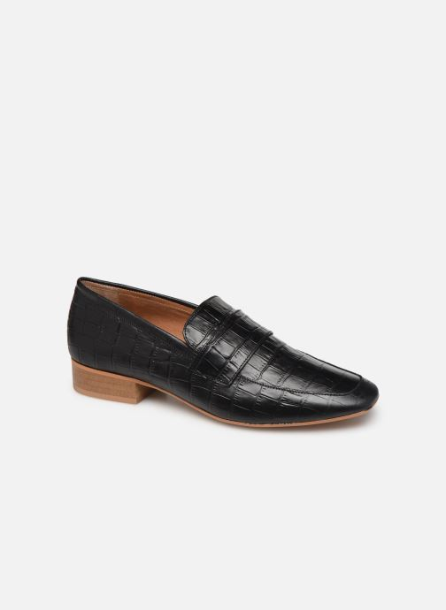 Loafers Made by SARENZA Retro Dandy Mocassin #3 Black view from the right