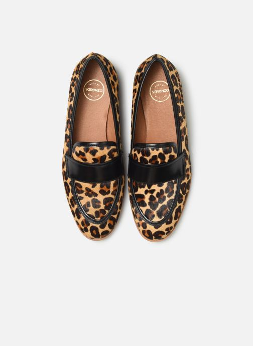 Mocassins Made by SARENZA Night Rock Mocassins #2 Marron vue portées chaussures