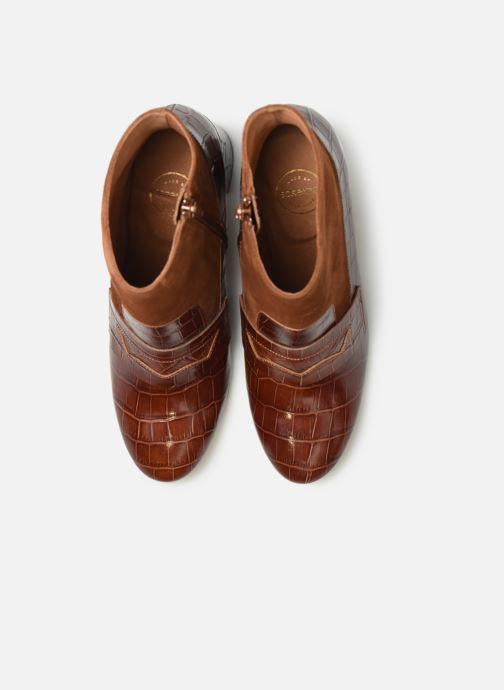Bottines et boots Made by SARENZA Retro Dandy Boots #4 Marron vue portées chaussures
