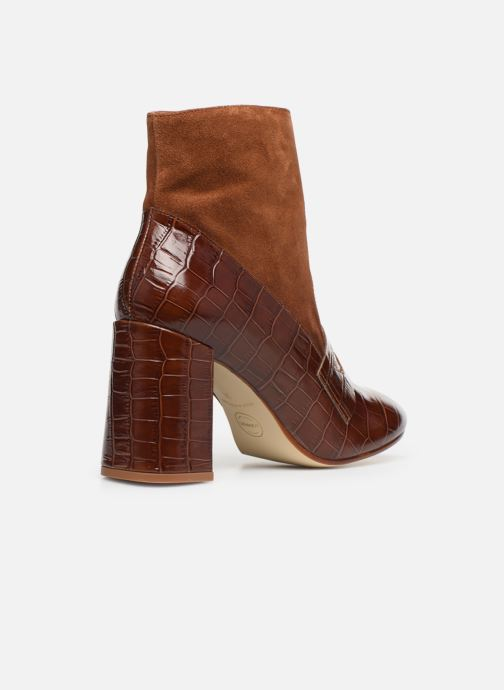 Bottines et boots Made by SARENZA Retro Dandy Boots #4 Marron vue face