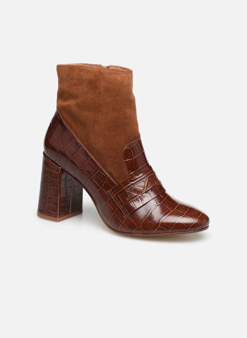 Bottines et boots Made by SARENZA Retro Dandy Boots #4 Marron vue droite