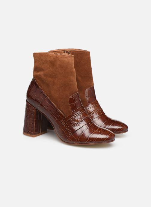 Bottines et boots Made by SARENZA Retro Dandy Boots #4 Marron vue derrière