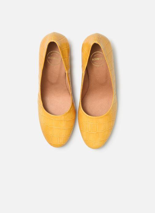 Décolleté Made by SARENZA Soft Folk Escarpin #4 Giallo modello indossato