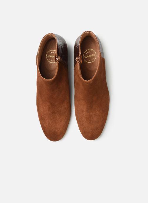 Bottines et boots Made by SARENZA Soft Folk Boots #14 Marron vue portées chaussures