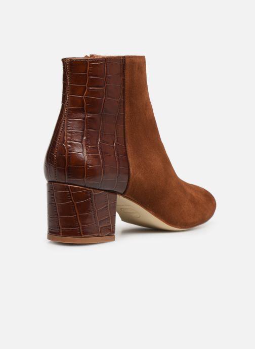 Bottines et boots Made by SARENZA Soft Folk Boots #14 Marron vue face