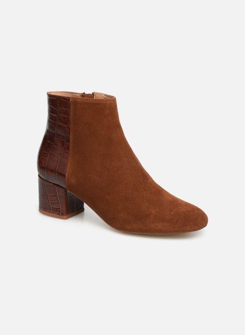 Bottines et boots Made by SARENZA Soft Folk Boots #14 Marron vue droite