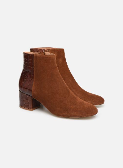 Bottines et boots Made by SARENZA Soft Folk Boots #14 Marron vue derrière