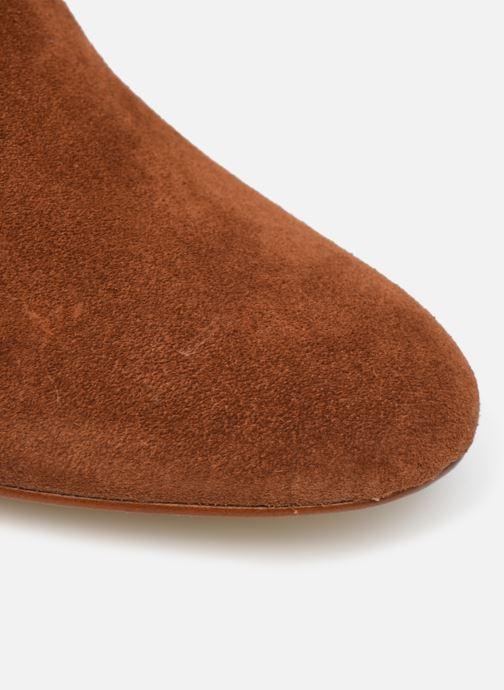 Bottines et boots Made by SARENZA Soft Folk Boots #14 Marron vue gauche