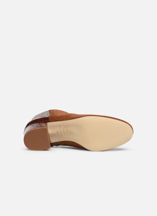 Stiefeletten & Boots Made by SARENZA Soft Folk Boots #14 braun ansicht von oben