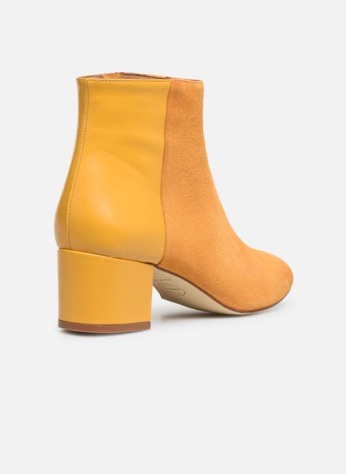 Boots en enkellaarsjes Made by SARENZA Soft Folk Boots #14 Geel voorkant