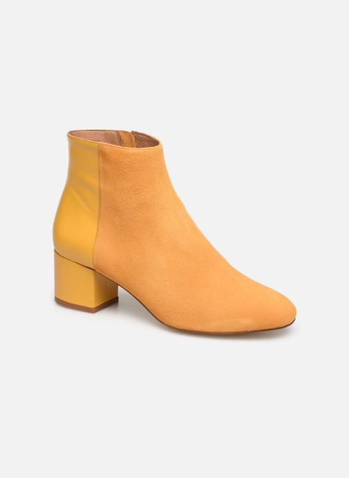 Botines  Made by SARENZA Soft Folk Boots #14 Amarillo vista lateral derecha