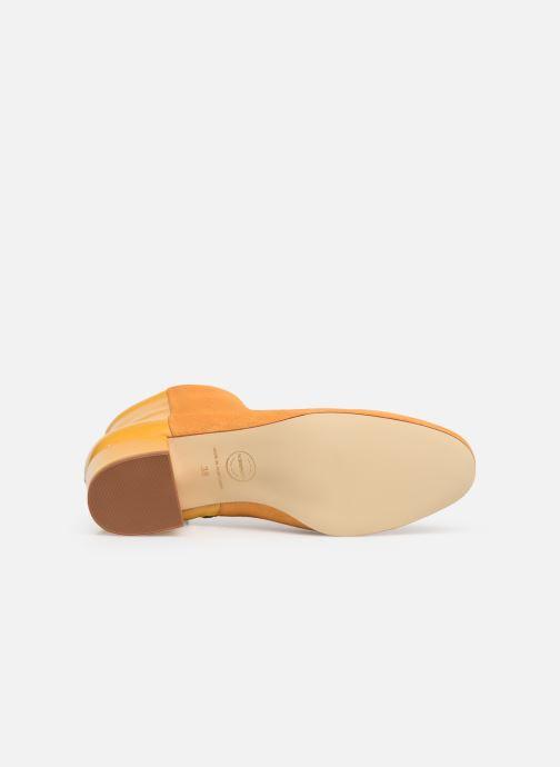 Bottines et boots Made by SARENZA Soft Folk Boots #14 Jaune vue haut