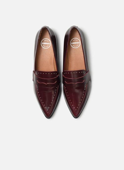 Mocassins Made by SARENZA Riviera Couture Mocassin #1 Bordeaux vue portées chaussures