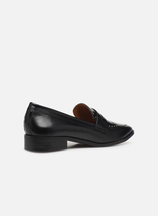 Loafers Made by SARENZA Riviera Couture Mocassin #1 Black front view