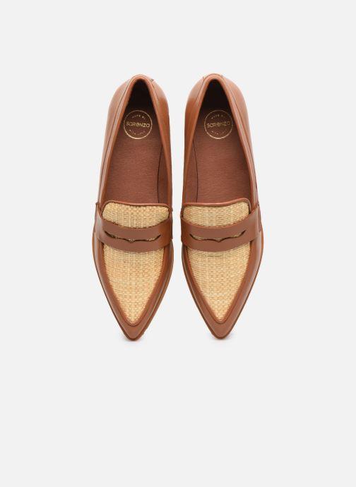 Mocassins Made by SARENZA Riviera Couture Mocassin #1 Marron vue portées chaussures