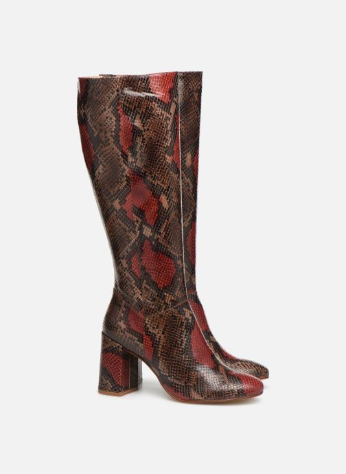 Støvler & gummistøvler Made by SARENZA Soft Folk Bottes #1 Brun se bagfra
