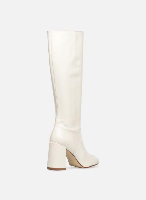 Støvler & gummistøvler Made by SARENZA Soft Folk Bottes #1 Hvid se forfra
