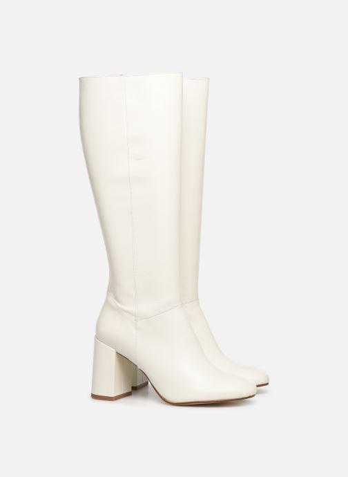 Støvler & gummistøvler Made by SARENZA Soft Folk Bottes #1 Hvid se bagfra