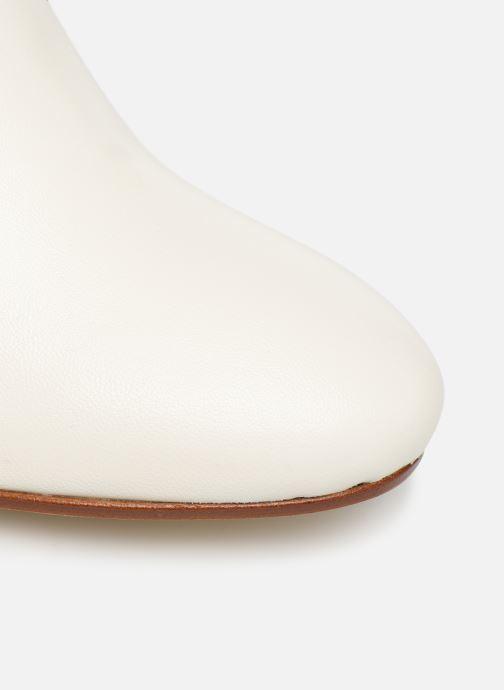 Støvler & gummistøvler Made by SARENZA Soft Folk Bottes #1 Hvid se fra venstre