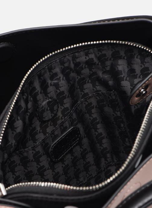 Bolsos de mano Karl Lagerfeld KARL DOTS SMALL HOBO Rosa vistra trasera