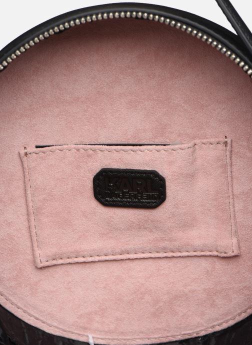 Handtassen Karl Lagerfeld KARL DOTS ROUND CROSSBODY Zwart achterkant