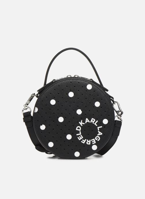 Handtassen Karl Lagerfeld KARL DOTS ROUND CROSSBODY Zwart detail