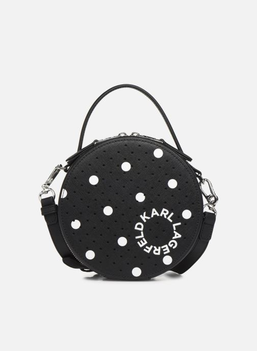 Sacs à main Karl Lagerfeld KARL DOTS ROUND CROSSBODY Noir vue détail/paire