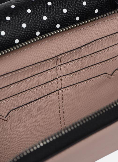 Kleine lederwaren Karl Lagerfeld KARL DOTS CROSSBODY DOUBLE POUCH Zwart achterkant